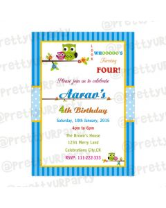 Own Theme Invitations