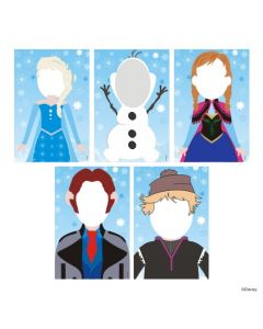 Frozen Photo Prop Cutouts