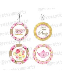 Tea Party Danglers