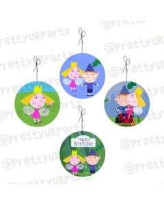 Ben and Holly's Little Kingdom Theme Danglers