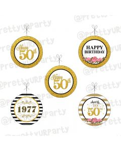 Milestone Birthday Theme Danglers