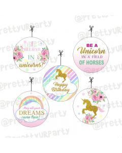Unicorn Theme Danglers