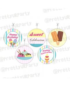 Ice Cream Theme Danglers