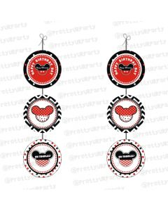 Mickey Mouse Inspired Danglers