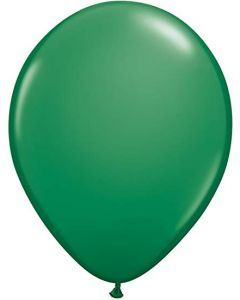 Dark Green Latex Balloons