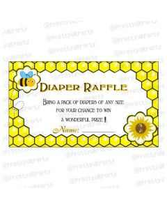 Mom to Bee diaper raffle tickets