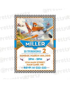Disney Planes Invitations