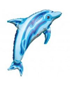 Dolphin Super Shape Foil Balloon