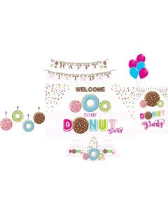 Donut Party Decorations Package - 70 pieces