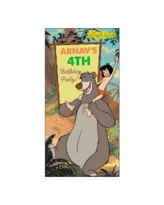 Jungle Book Door Banner