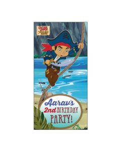 Captain Jake and the Neverland Door Banner