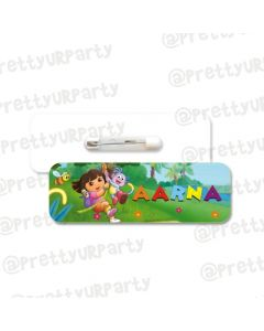 Dora the Explorer  Theme Badge / Name Tag
