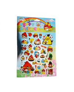 angry birds big sticker