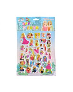 barbie big sticker