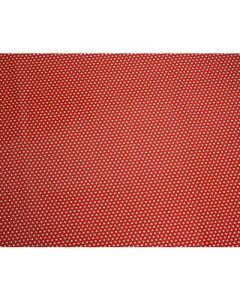 Red small Polka dots Wrapping paper (pack of 5)