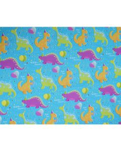 Dinosaurs Wrapping paper (pack of 5)