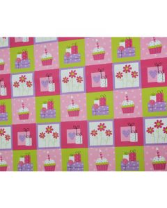 Cakes & Gifts Wrapping paper (pack of 5)