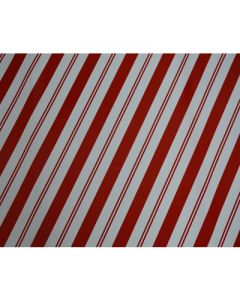 Red thin thick stripes Wrapping paper (pack of 5)