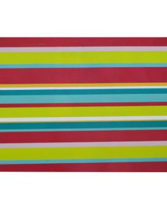 Dark Colored Thick Stripes Wrapping paper (pack of 5)