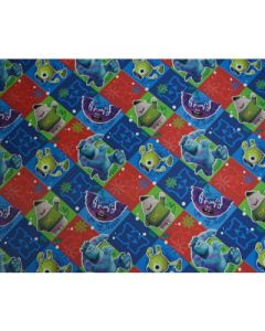Monsters Inc. Wrapping paper (pack of 5)