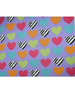 Small Hearts Wrapping paper (pack of 5)