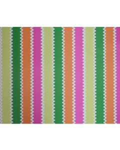 Colourful Stripes Wrapping paper (pack of 5)