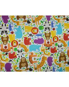 Jungle Wrapping paper 02 (pack of 5)