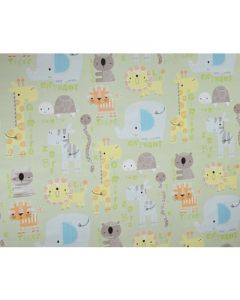 Jungle Wrapping paper 03 (pack of 5)