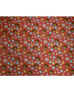 Dora Red Wrapping paper  (pack of 5)