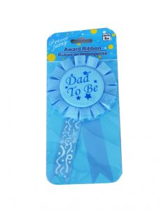 Dad to be Rosette Badge