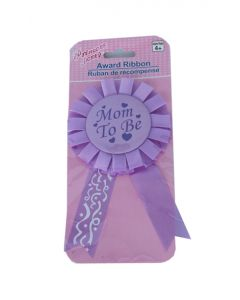 Mom to be Rosette Badge