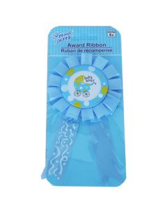 Baby Boy Carriage Rosette Badge