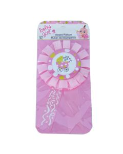 Baby Girl Carriage Rosette Badge