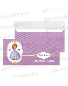 Sofia the 1st Inspired Money Envelopes
