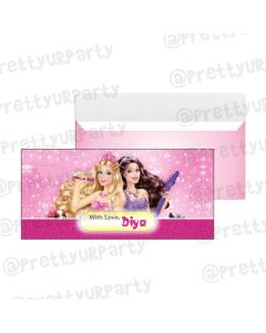 Barbie Rockstar Money Envelopes