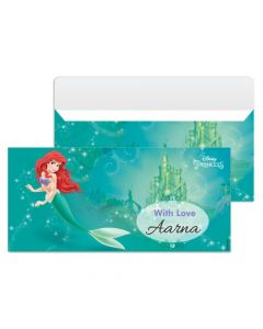 Ariel the Mermaid Money Envelopes