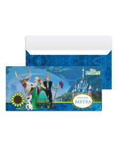 Frozen Fever Money Envelopes