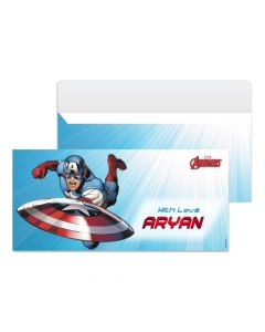 Captain America Money Envelopes