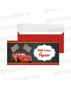Disney Cars Inspired Money Envelopes