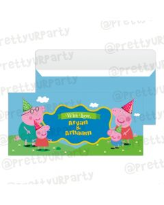Peppa Pig inspired Money Envelopes