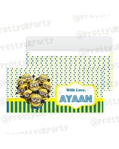 Despicable Me Minions Money Envelopes