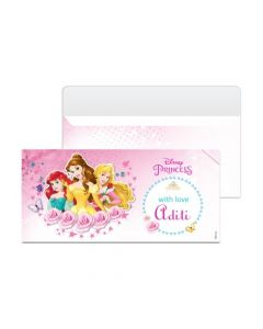 Disney Princess Money Envelopes