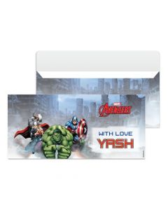 Avengers Money Envelopes