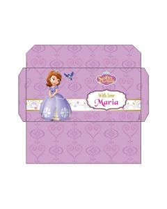 Sofia the first Enchanted Garden Party Money Envelopes
