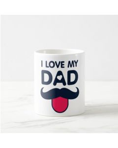 Fathers Day I Love My Dad Mug
