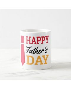 Fathers Day Happy Fathers Day Mug - Red