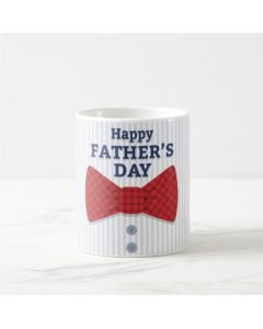 Fathers Day Happy Fathers Day with Bow Mug