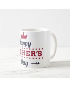 Fathers Day Happy Fathers Day with Crown Mug