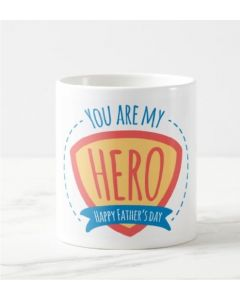 Fathers Day You are My Hero Mug