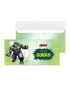 Hulk Money Envelopes